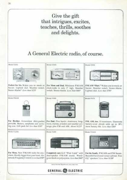 Ge General Electric Radio Shortwave 9 Models (1964)