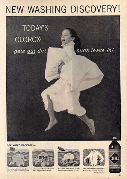 Clorox's Bleach (1959)