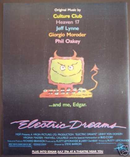Electric Dreams Original Music Movie Promo (1984)