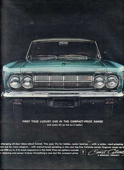 Ford's Mercury Comet (1963)