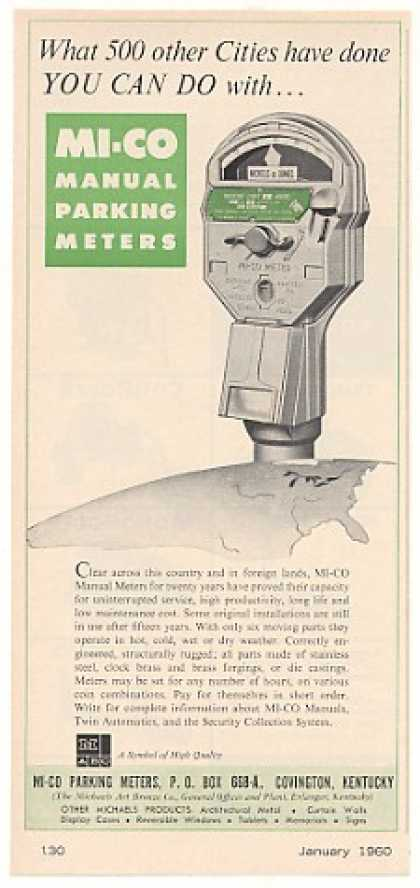 MI-CO Manual Parking Meter (1960)