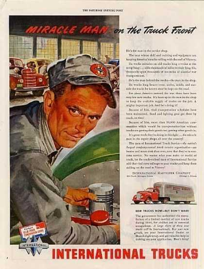 "International Truck Ad ""Miracle Man... (1944)"