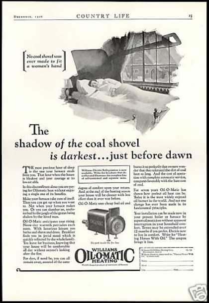 Williams Oil-O-Matic Heating Furnace Vintage (1926)