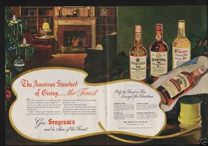 American Standard Seagrams Whiskey Gin (1946)