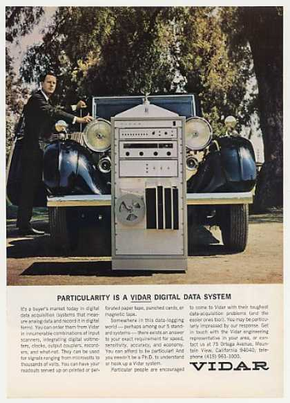 Vidar Digital Data System Rolls Royce Photo (1966)