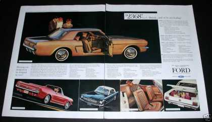 Ford New Mustang, 2 Page Spread (1964)