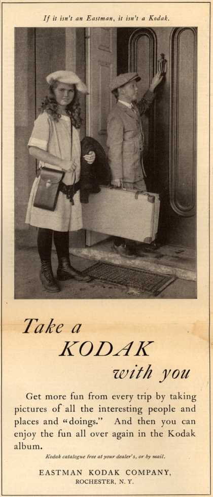 Kodak – Take a Kodak with you (1915)