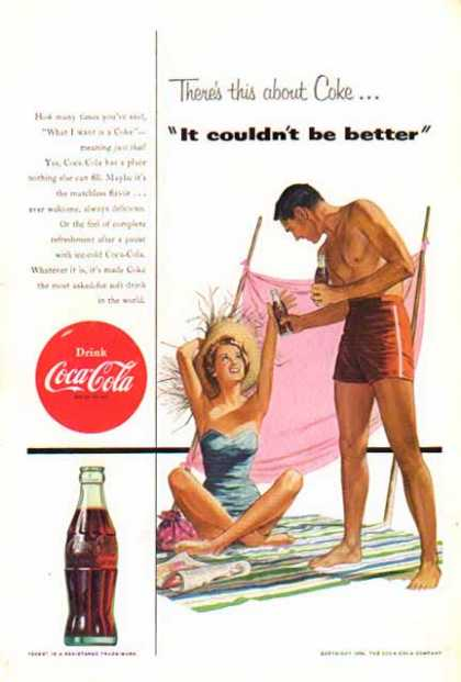 Coke – On The Beach – It couldn't be better (1954)