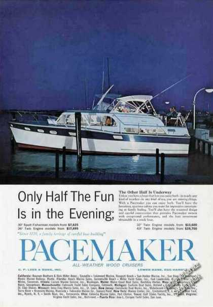 Pacemaker Wood Cruisers Egg Harbor Nj (1963)