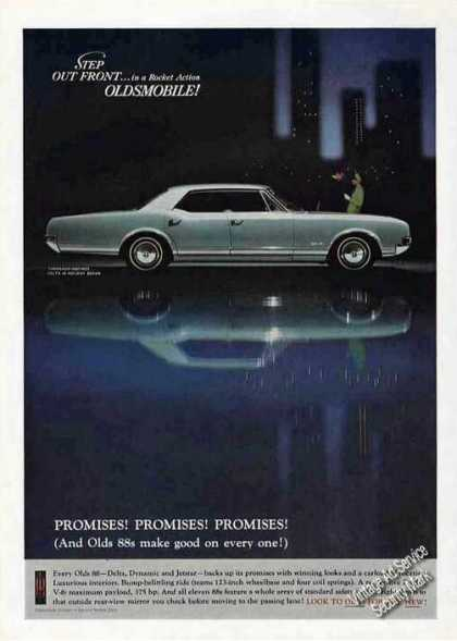 Oldsmobile Delta 88 Holiday Sedan Photo (1966)