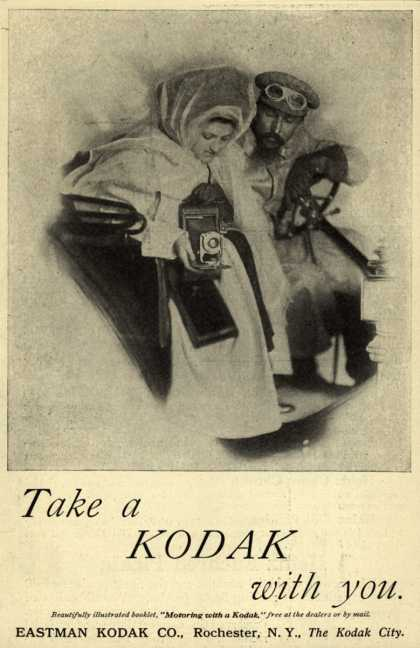 Kodak – Take a Kodak with you (1910)
