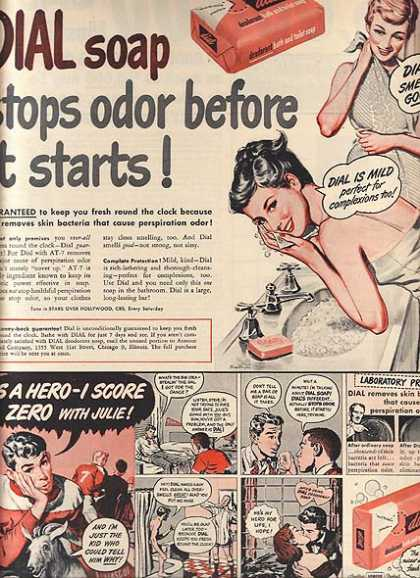 Dial's Deodorant Bath and Hand Soap (1949)