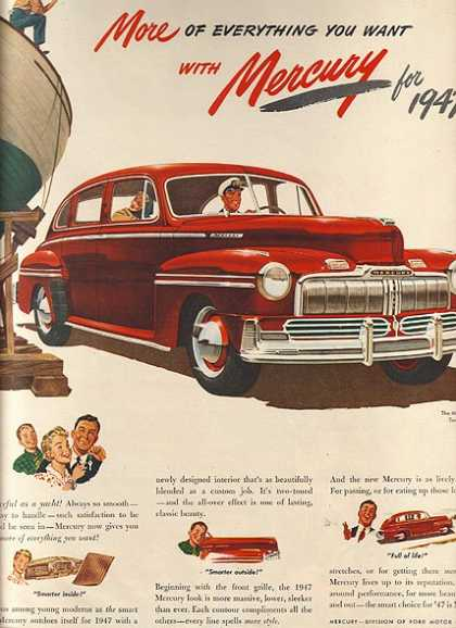Ford's Mercury (1947)
