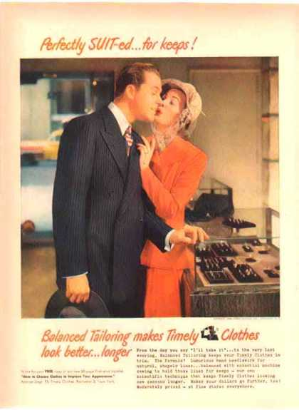 Timely Clothes Fashion – Perfectly Suit-ed for keeps (1948)