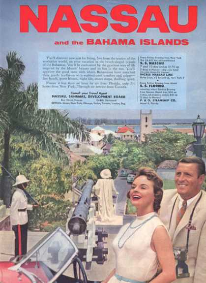 Nassau Bahama Islands Fort (1957)