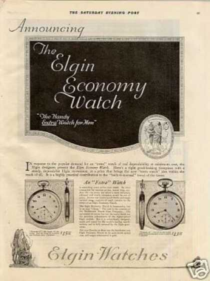 Elgin Watches (1921)