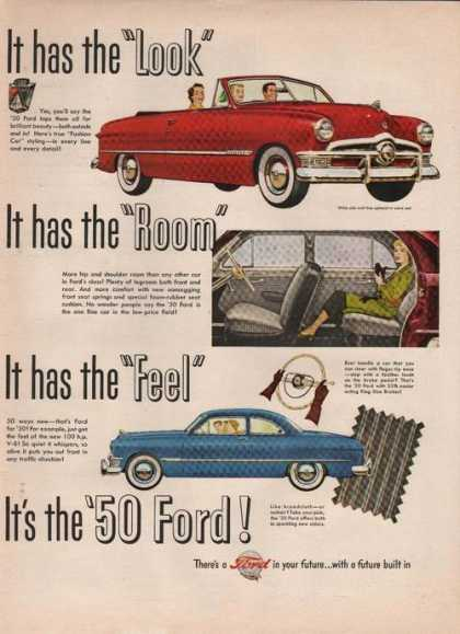 Look Room Feel 1950 Ford Car (1949)