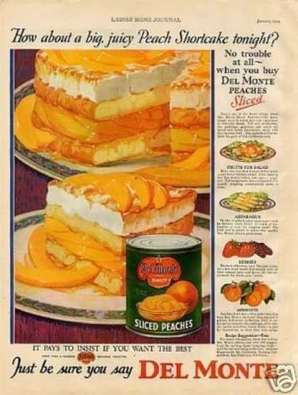 Del Monte Peaches Color (1929)