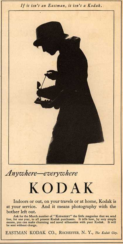 Kodak – Anywhere – everywhere Kodak (1920)