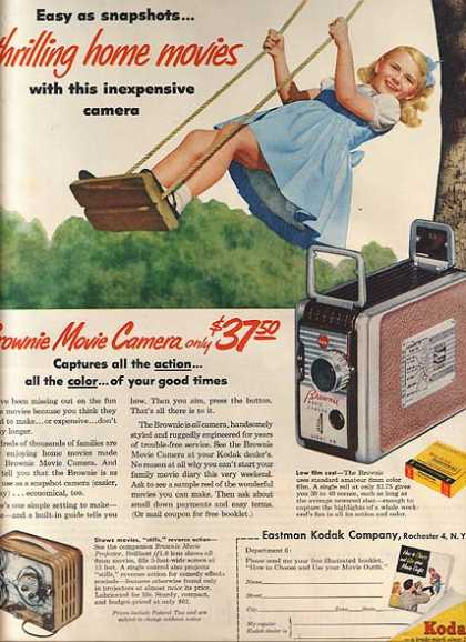 Kodak's Brownie Movie Camera (1955)