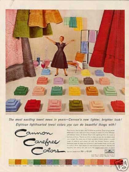 Cannon Towels (1954)