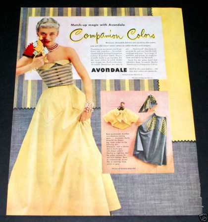 Old , Avondale, Companion Colors (1949)