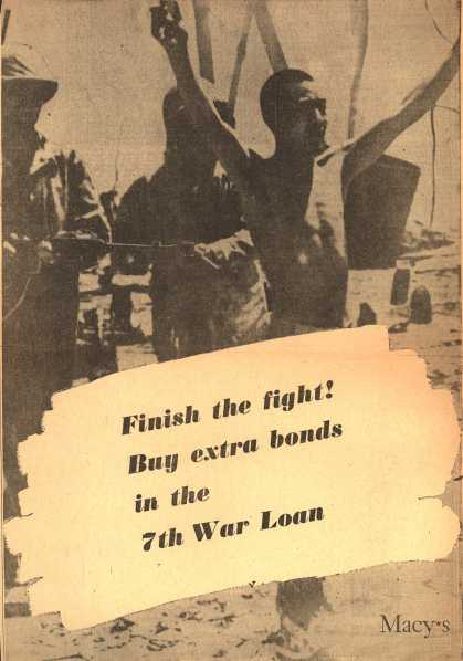 Macy's 7th War Loan – Finish the fight (1945)