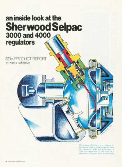 Sherwood Selpac 3000 4000 Regulator (1976)