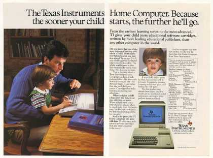 Texas Instruments TI Home Computer Child (1983)