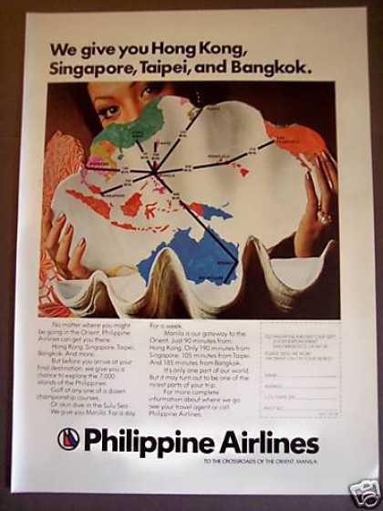 Philippine Airlines To the Orient (1975)