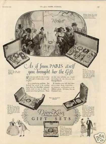 Djer-kiss Gift Sets (1925)