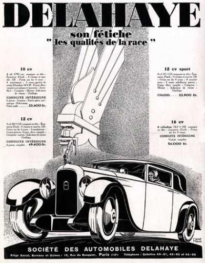 Delahaye Sedan Art Deco (1928)