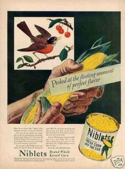 Green Giant Niblets Corn (1946)