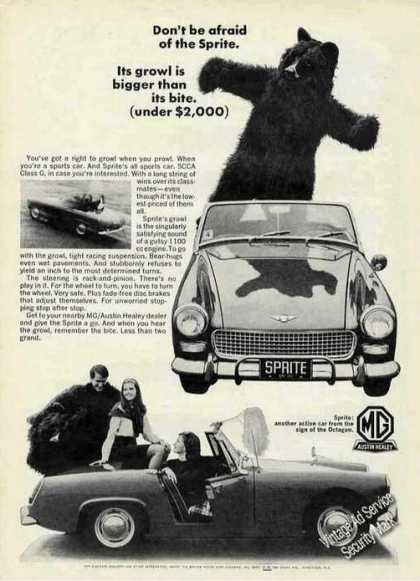 Mg/austin Healey Sprite Photos (1967)