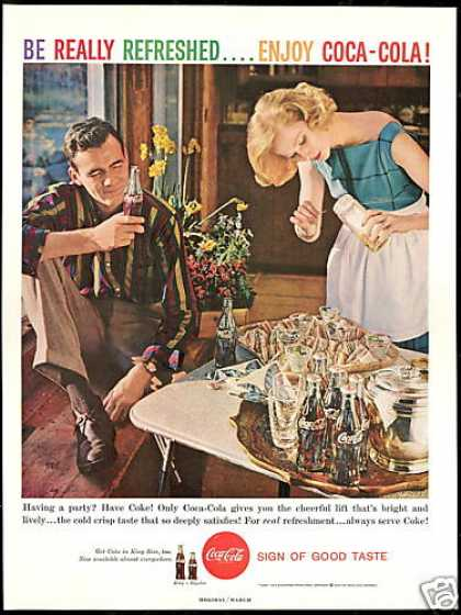 Coke Party Club Sandwich Coca Cola (1959)