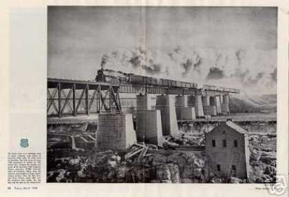 Magazine Photo/union Pacific Portland Rose/4-8-4 (1948)