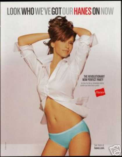 Jennifer Love Hewitt Hanes Panty Photo (2006)