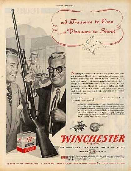 Image result for old winchester ad 1950s