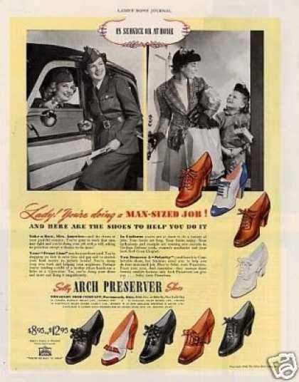 Selby Arch Preserver Shoes (1942)