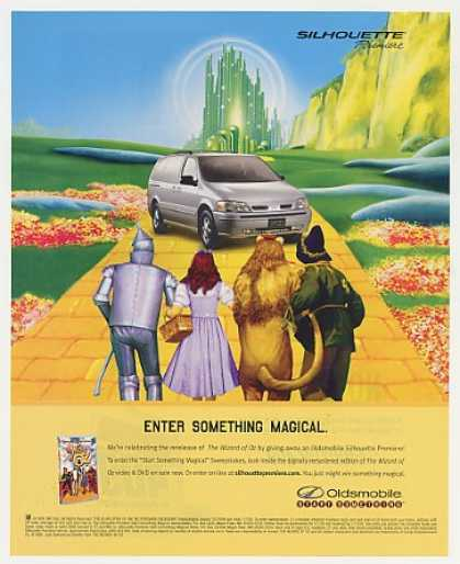 Oldsmobile Silhouette Premiere Wizard of Oz (1999)