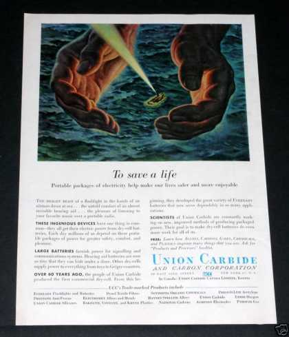 Old , Union Carbide, Life Raft (1956)
