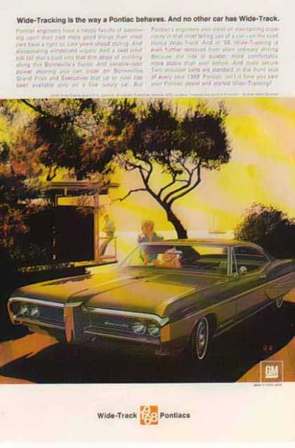 Pontiac Car – Bonneville – Green / Wide Track (1968)