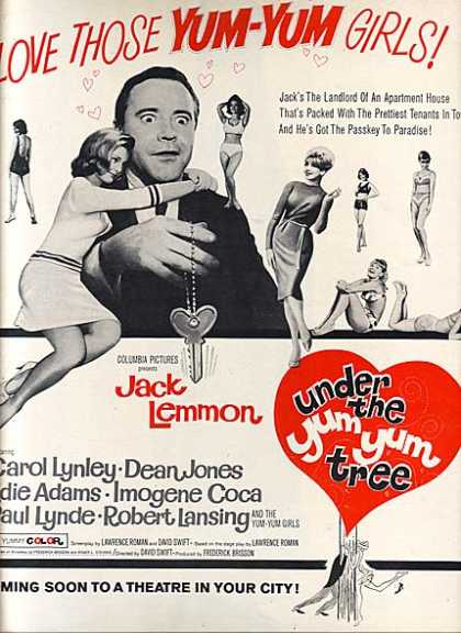 Under the Yum Yum Tree (Romantic Comedy) (1963)