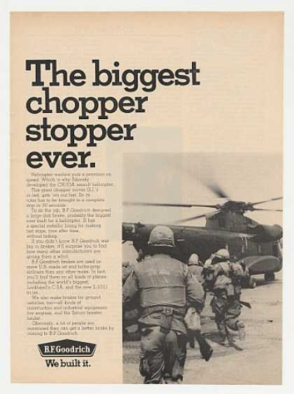 Sikorsky CH-53A Helicopter Photo BF Goodrich (1969)