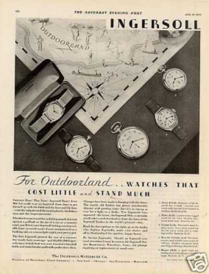 Ingersoll Watches (1930)
