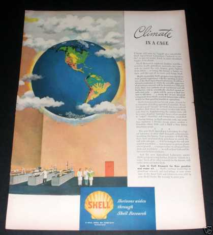 Shell Oil, Climate In a Cage (1945)
