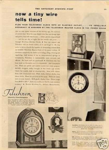 Telechron Clocks (1930)