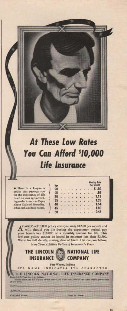 Lincoln National Life Insurance (1942)