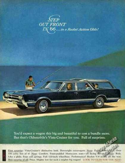 "Oldsmobile Vista-cruiser ""Step Out Front"" Car (1966)"