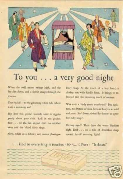 "Ivory Soap Ad ""To You... (1929)"